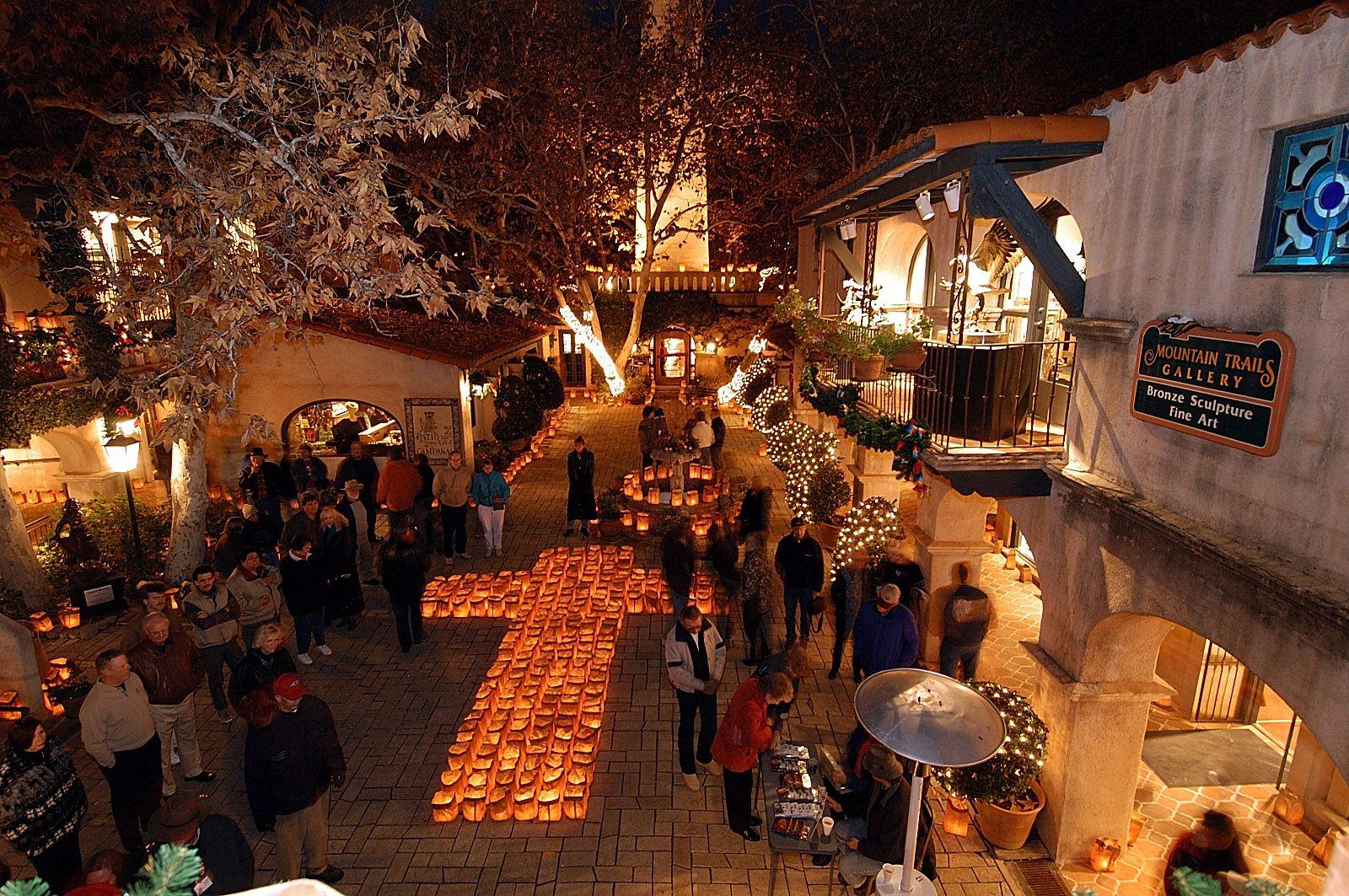 Christmas Shopping among the Luminaras at Tlaquepaque Arts & Crafts ...