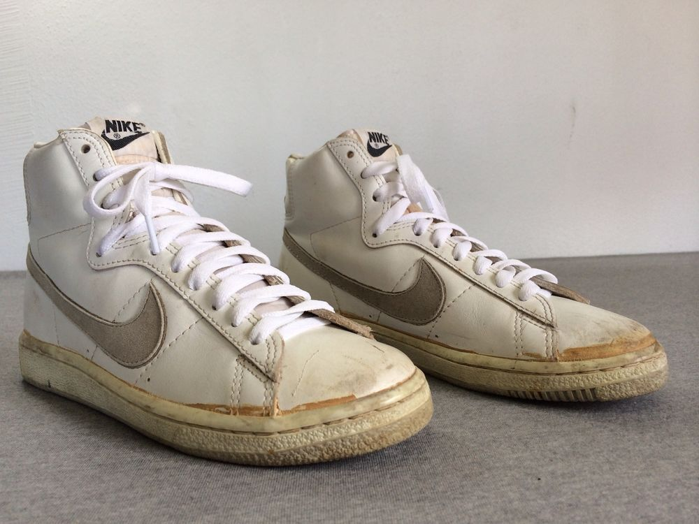 mens nike blazer high suede vintage sneakers from the 60s