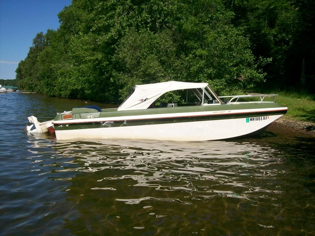 1964 Omc 17 Deluxe Io Hull Boat Vintage Boats Classic Boats