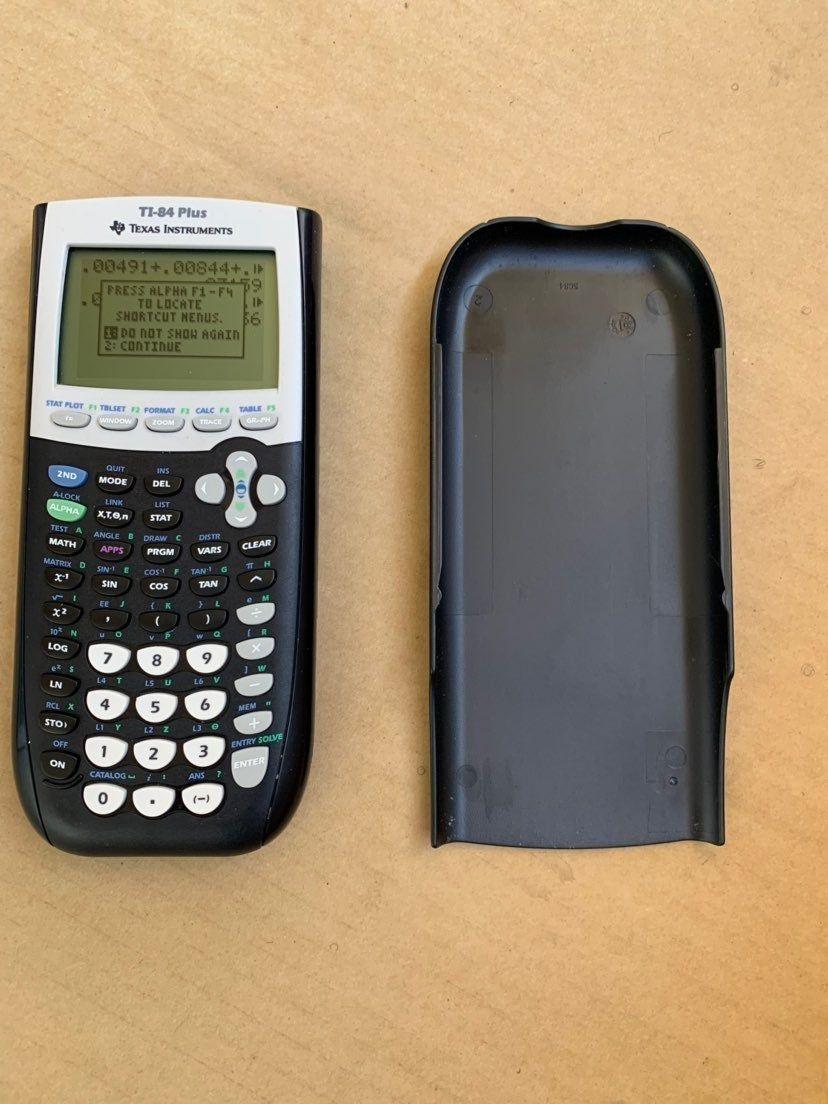 Texas instruments ti84 plus graphing calculator black