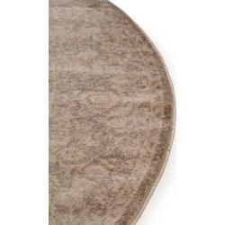 Photo of benuta Classic Teppich rund Velvet Beige ø 240 cm rund – Vintage Teppich im Used-Lookbenuta.de