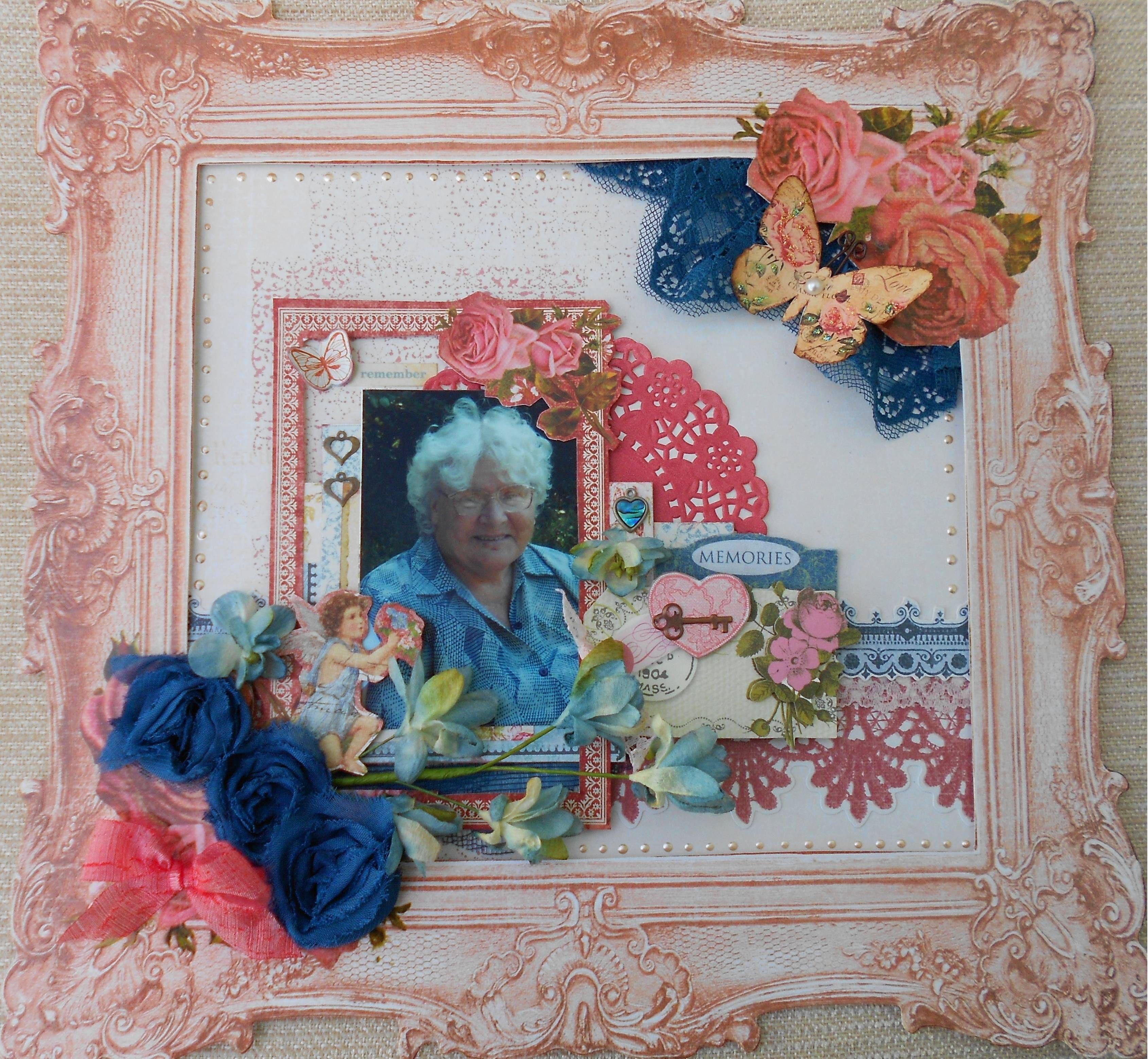Nan *Scraps of Elegance* -  Kaisercraft 'Key To My Heart' papers