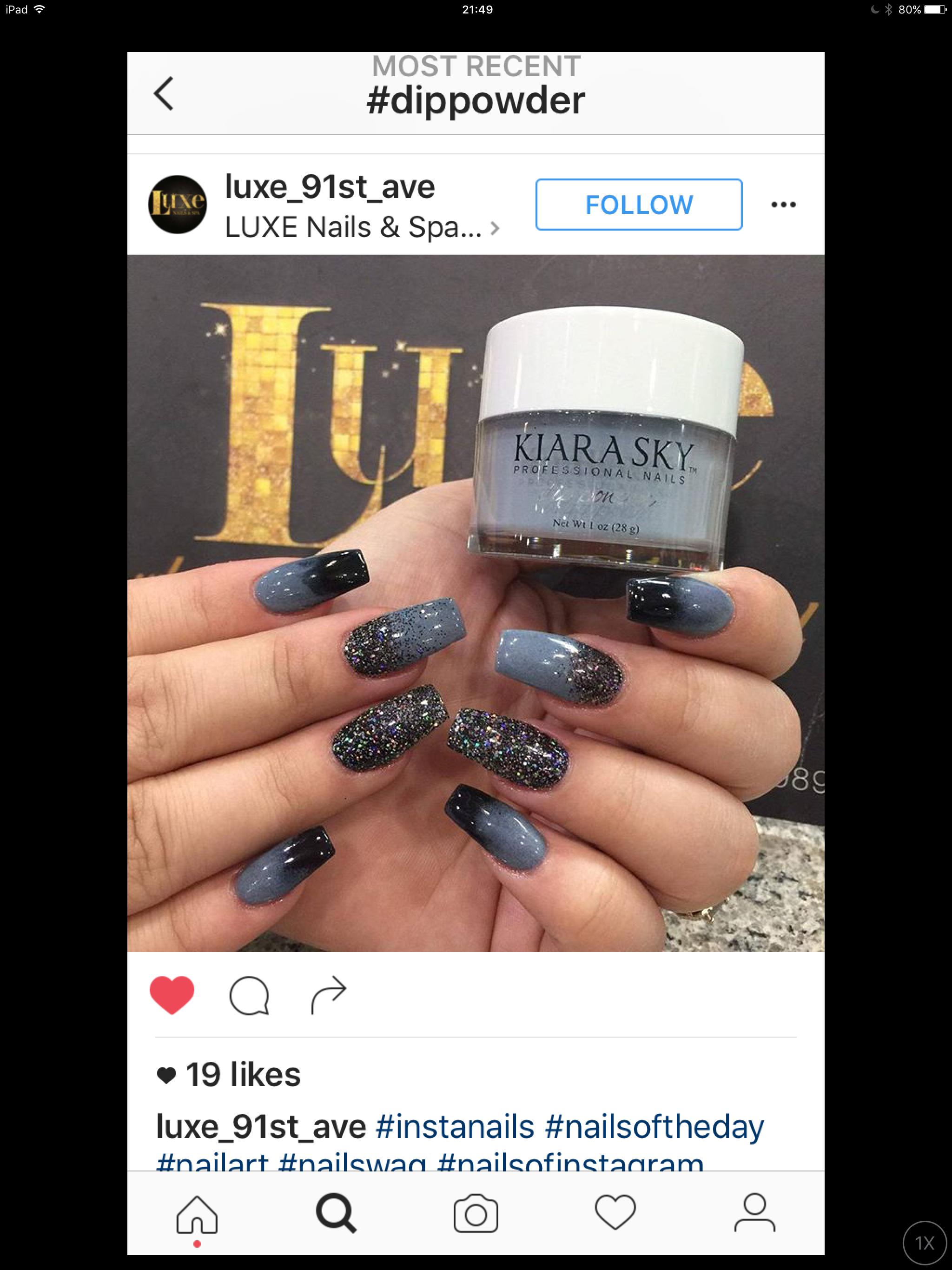 Pin de Lisa Mccully en Kiara sky nails   Pinterest   Belleza