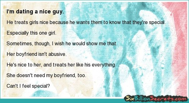 Dating the nice guy