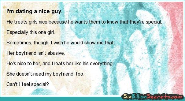 good guy dating