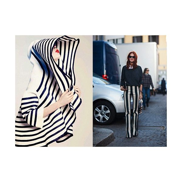 Vertical Impact the power of vertical stripes in fashion decor ❤ liked on Polyvore featuring home, home decor, spring home decor, traditional home decor and black and white home decor