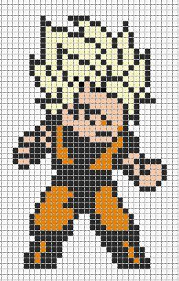 Resultat De Recherche D Images Pour Pixel Art Dragon Ball Z