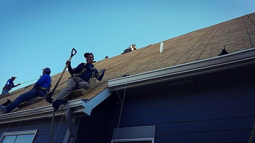 Thereu0027s Roofing And Thereu0027s Extreme Roofing. This Is Extreme Roofing.  Shout Out To