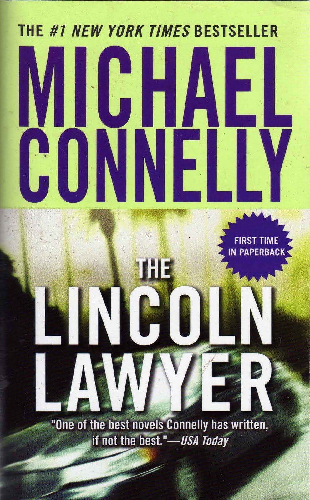 Michael Connelly The Lincoln Lawyer Lincoln Lawyer Michael
