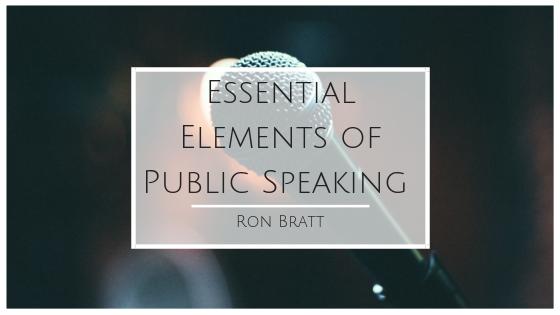 Essential Elements of Public Speaking | Public speaking ...