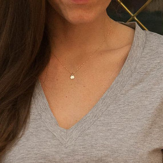 Solid 14k gold initial necklace micro tiny dainty delicate small solid 14k gold initial necklace micro tiny dainty delicate small mom mommy push present aloadofball Gallery