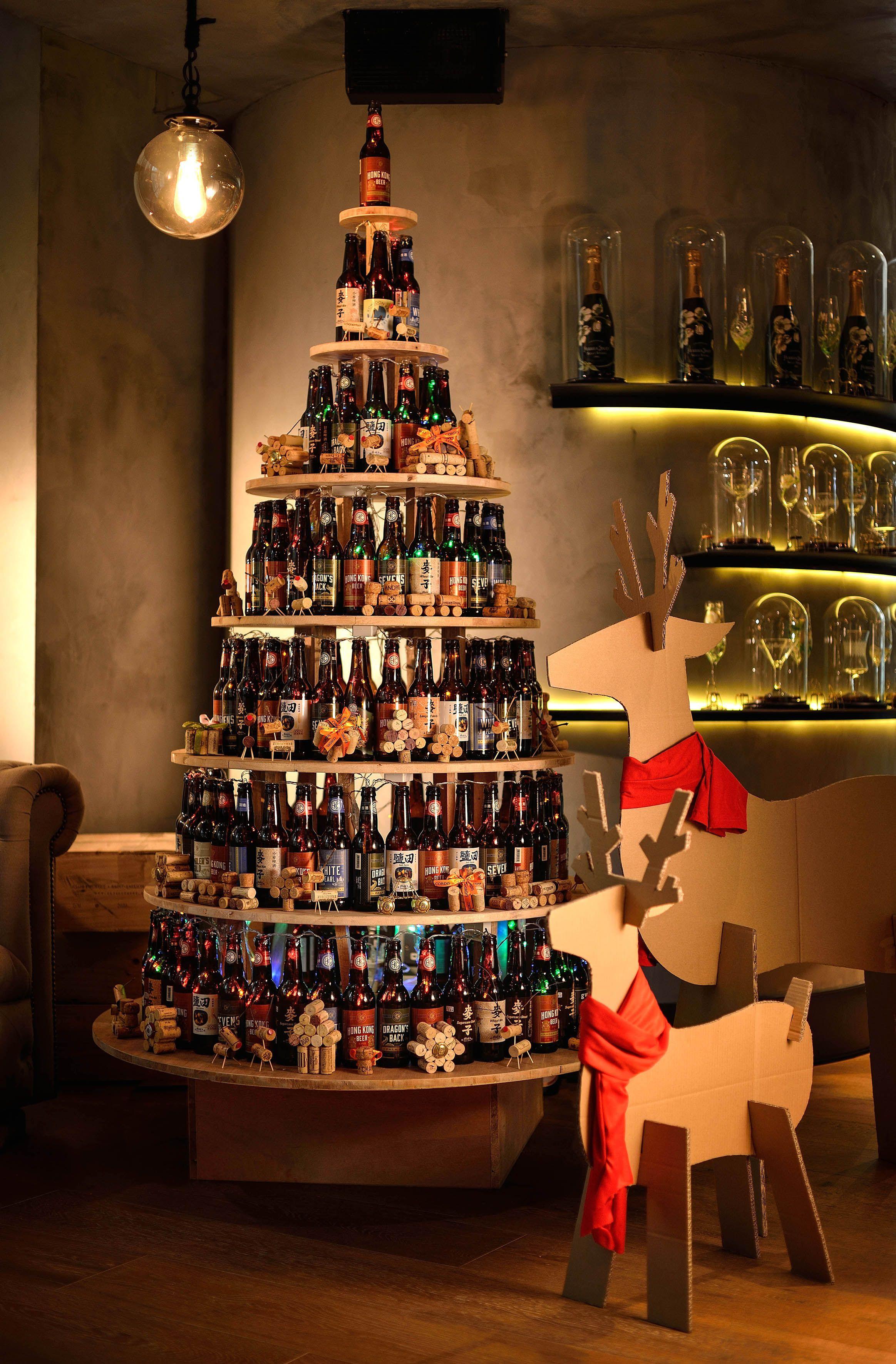 Cordis Hong Kong S Sustainable Christmas Tree Was Created