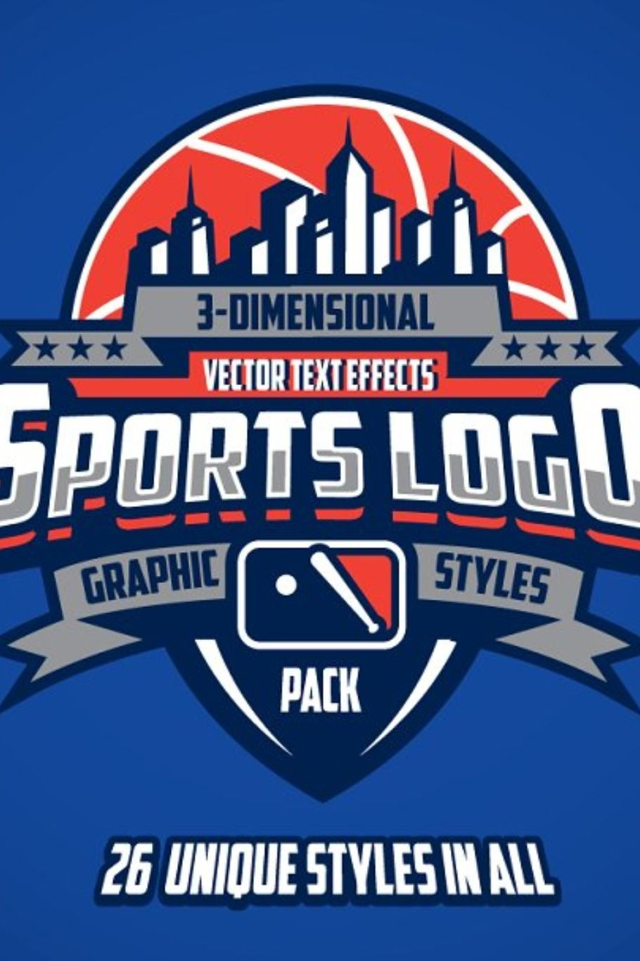 3d Sports Logo Graphic Styles Pack Event Logo Sports Logo Logos