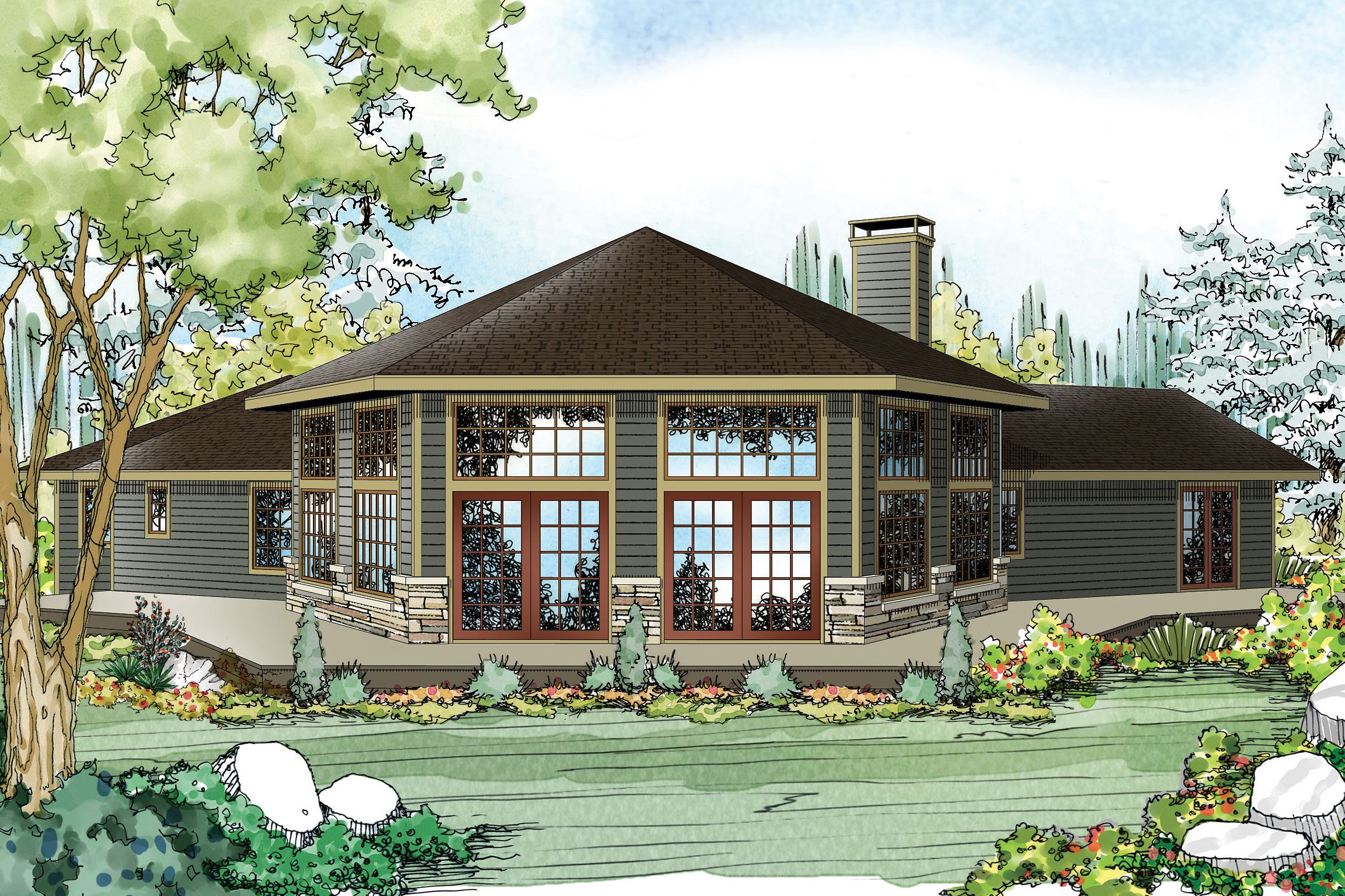 No matter where you are in the Silvercrest contemporary ranchstyle