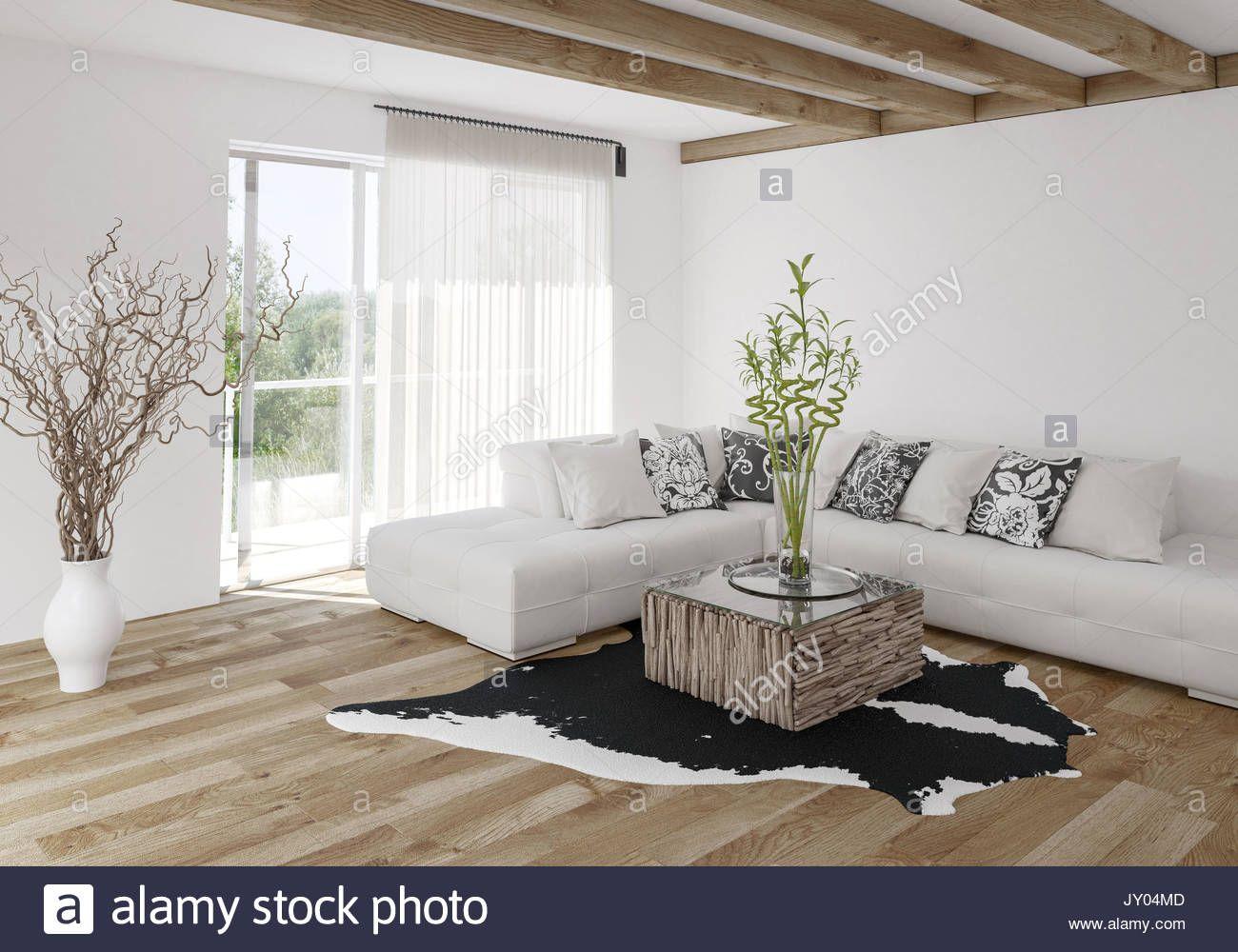 5 Herrlich Galerie Von Holzbalken Wohnzimmer Modern  Wohnzimmer
