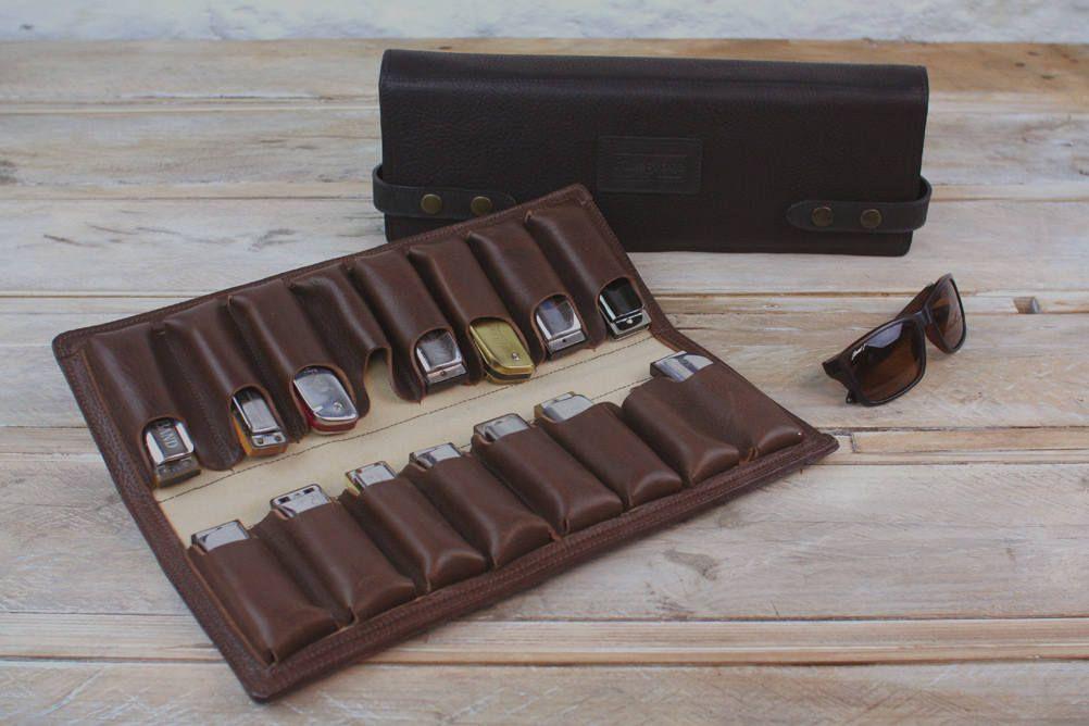 2018 年の 16 pack leather harmonica case leather blues harp holder