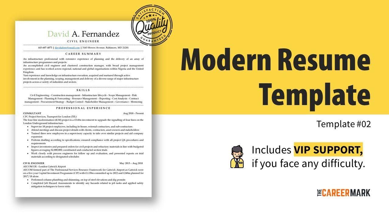 ATS friendly resume template Simple Resume Best Resume