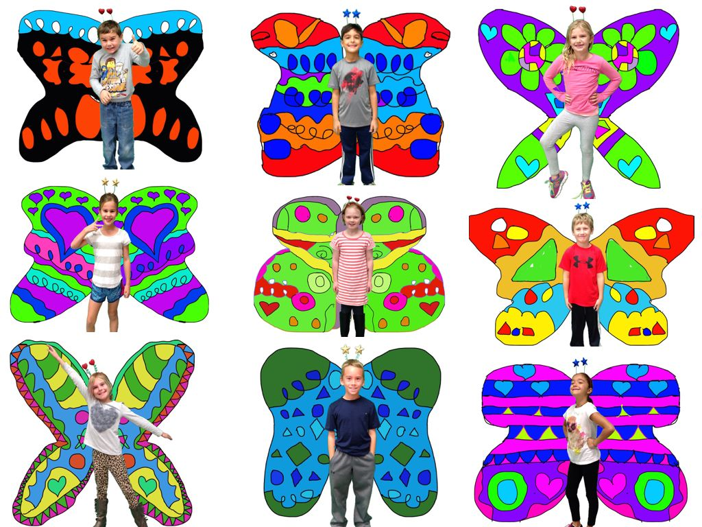 Symmetry butterfly project - ipad   ART: inspiration, lessons ...