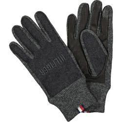 Photo of Tommy Hilfiger Herren Handschuhe, Ziegenleder-Wolle, dunkelgrau Tommy HilfigerTommy Hilfiger