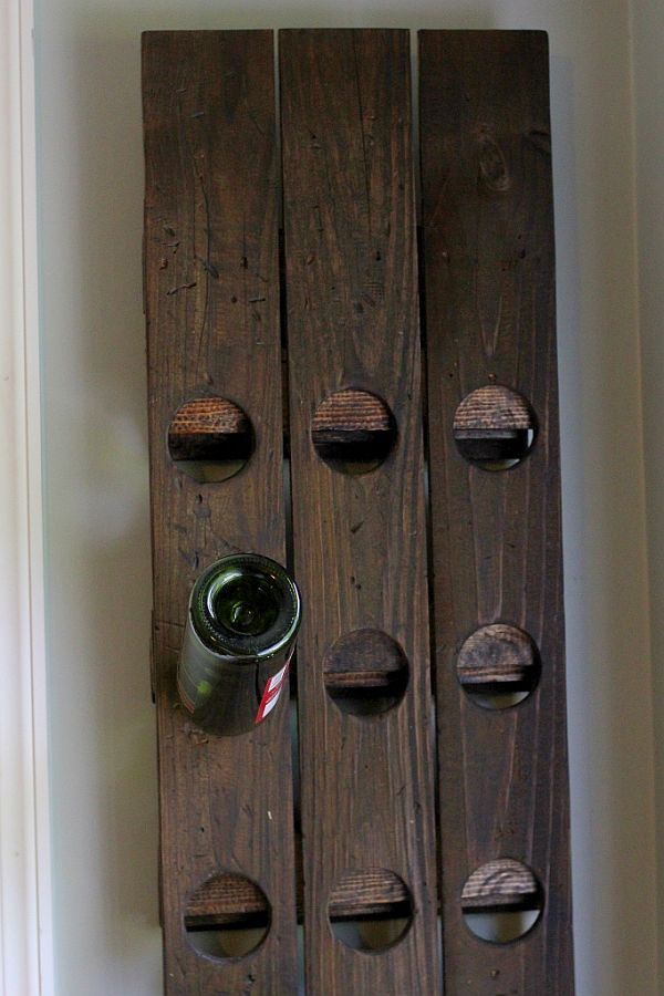 6 versatile wall mounted wine rack designs you can craft yourself perfect diy wall mount riddling wine rack solutioingenieria Image collections