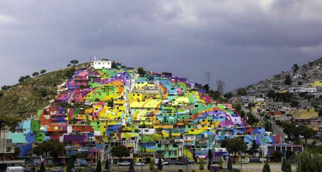 Macro mural m s grande de m xico germen nuevo muralismo for Mural mexicano