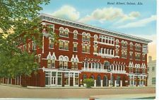 Selma Alabama Hotel Albert 1940 S Vintage View
