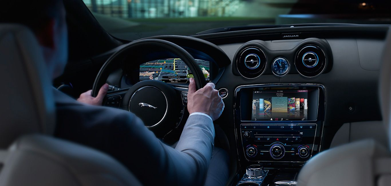 2017 Jaguar Xj Interior Design Features Usa
