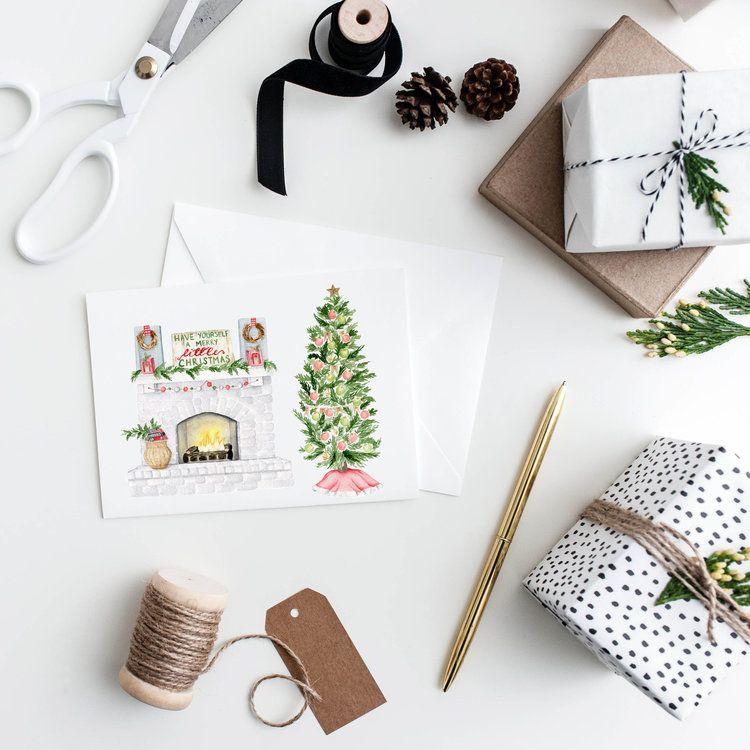 Merry Little Christmas Cards PORTFOLIO Pinterest Christmas