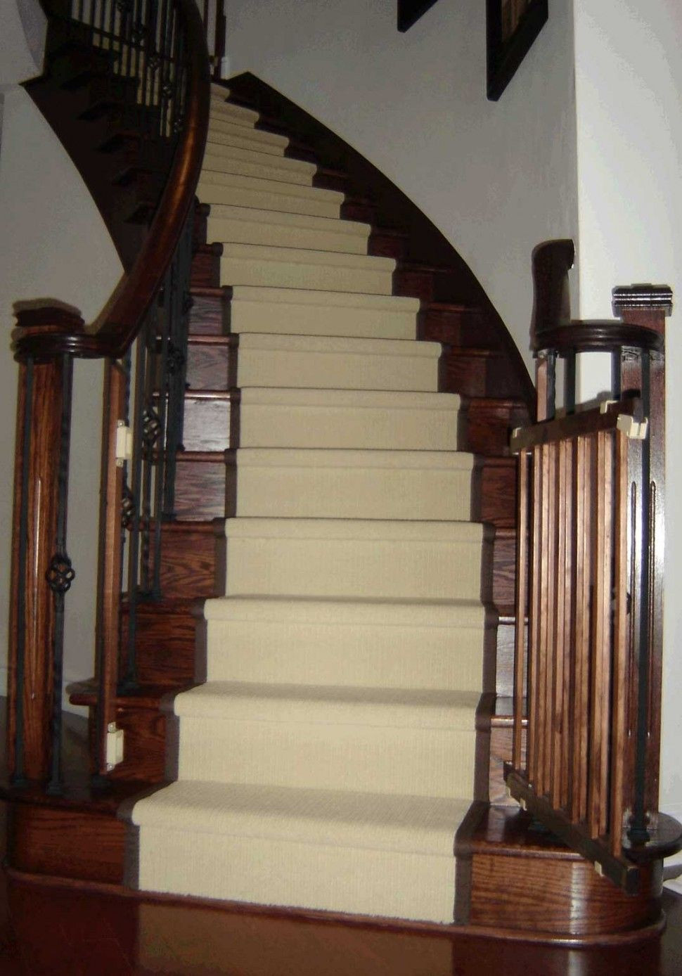 Dark Oak Stairs And Risers Light Stair