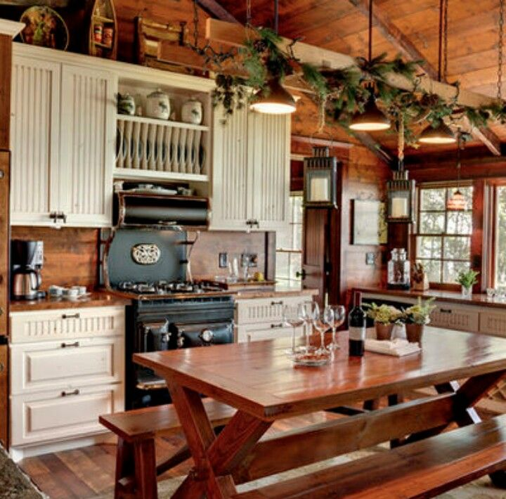 Vintage Rustic Kitchen Cabinets: Rustic Kitchen Tables, Rustic