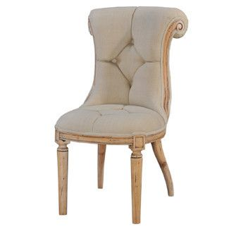 Best Julian Elbow Accent Chair In Beige Linen – Old Hollywood 400 x 300