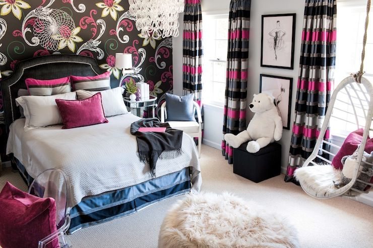Wohnideen Wolter wolter absolutely fabulous s room with pink and black