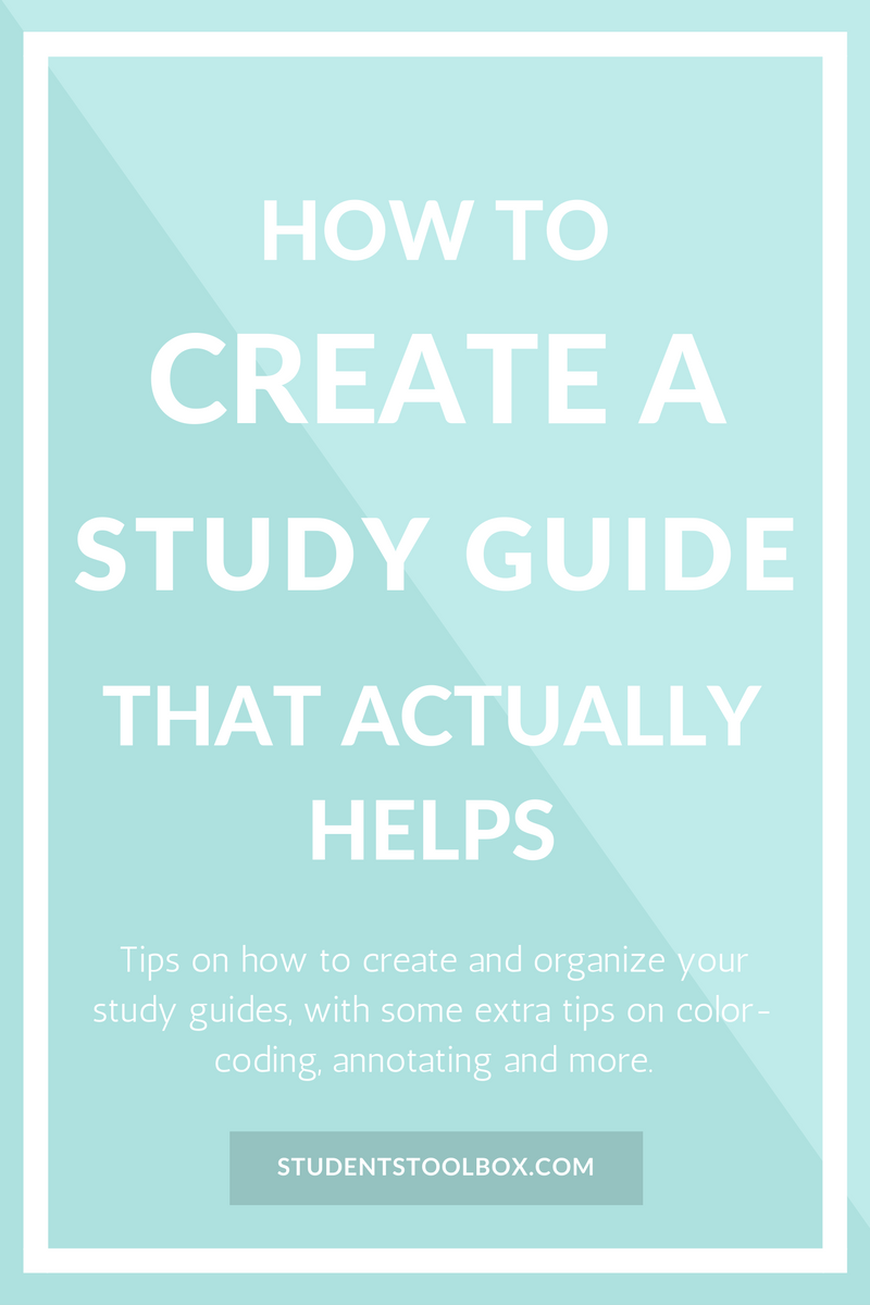 how to write a good essay in 7 steps colleges we and hacks check out how to make a study guide that actually helps this study guide template