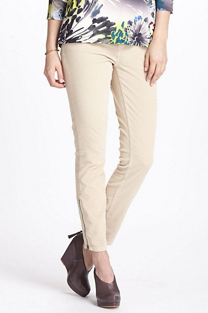 Pilcro Stet Slim Ankle Zippered Cords   My Real Wardrobe ...