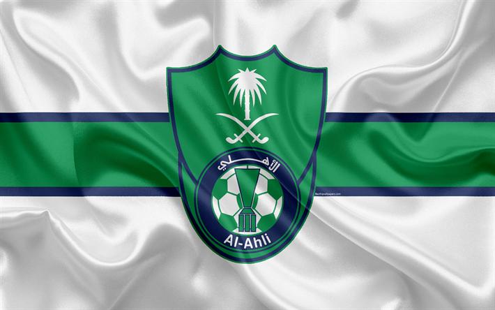 Download Wallpapers Al Ahli Sc 4k Saudi Soccer Club Al Ahli Logo Emblem Saudi Professional League Football Jeddah Saudi Arabia Silk Texture Besthqwallp Soccer Club Sports Soccer Team