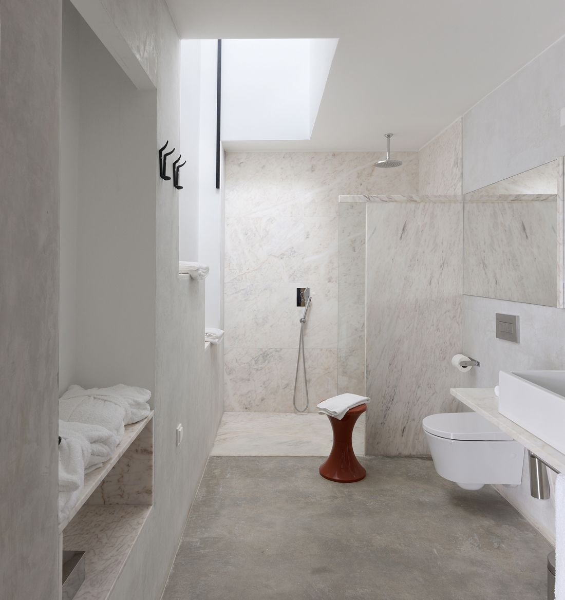 30 Marble Bathroom Design Ideas Styling Up Your Private Daily Rituals Freshome Com Marble Bathroom Designs Small Bathroom Remodel Bathroom Interior