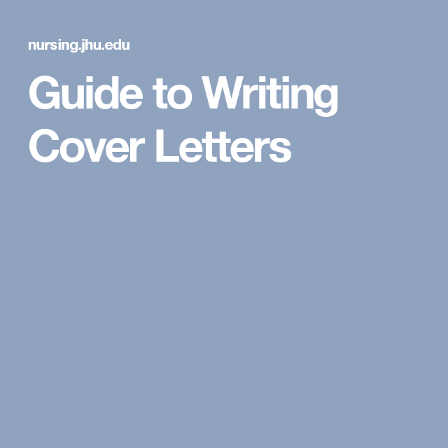Guide To Writing Cover Letters  Jobs    Student