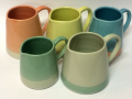 Some new jugs from my rainbow range. Visit www.sshannah.com for more