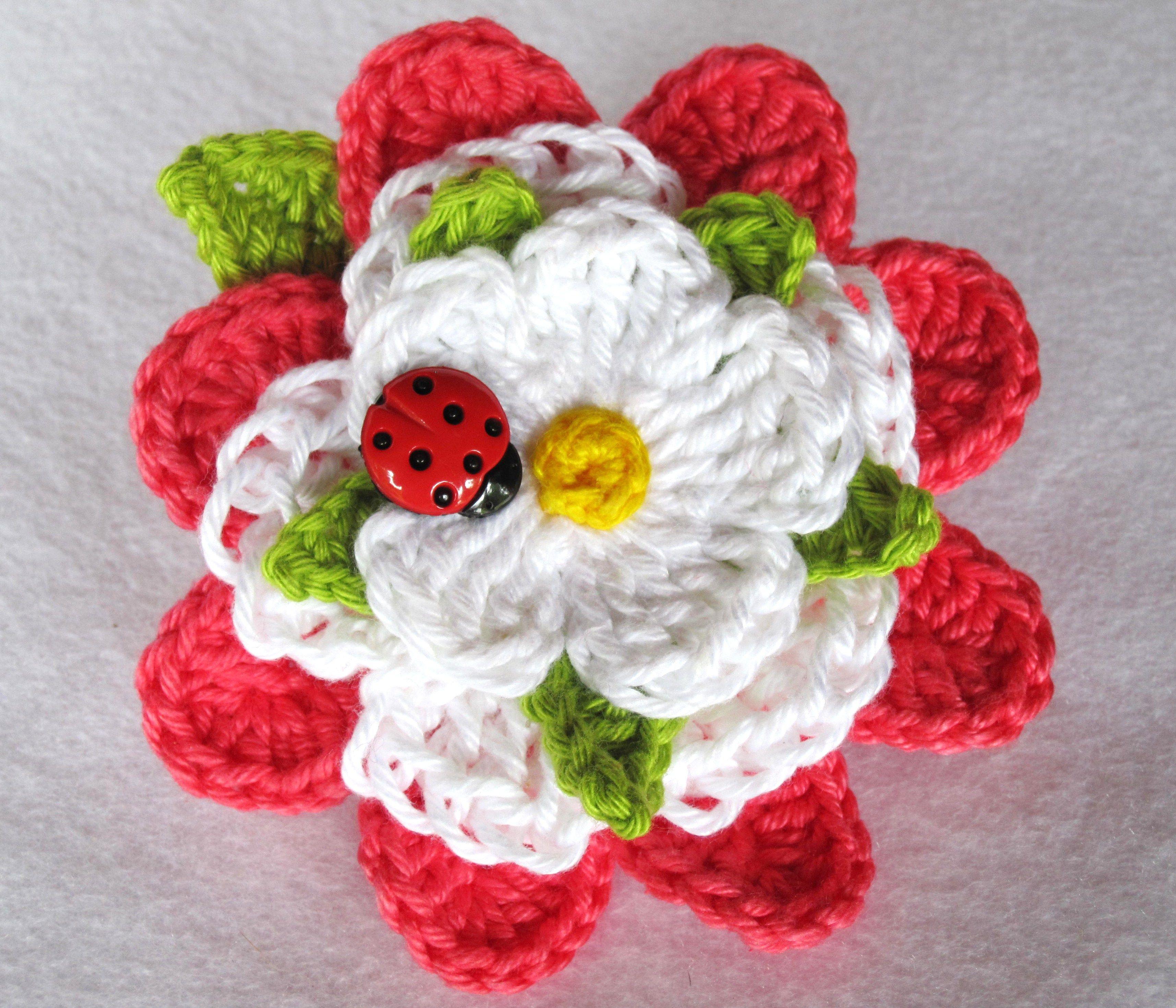 Crochet Love this! | FLOWERS | Pinterest | Haken, Häckeln und Häkeln