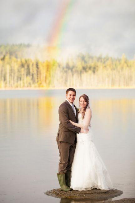 Rainy Wedding Day Majestic Memories Photography