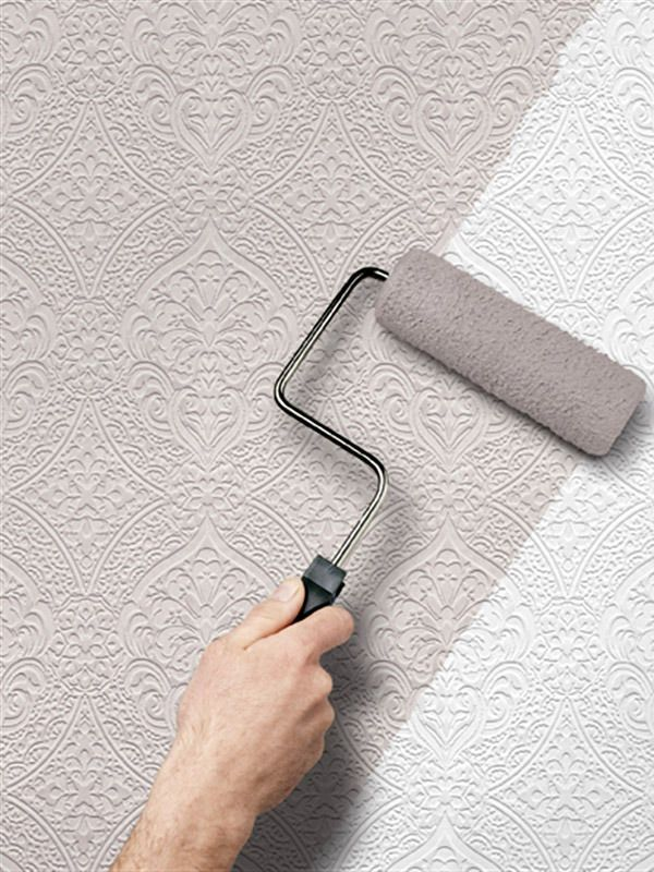 Http I Ebayimg Com Images G Myaaoxy0zhtofpd S L1600 Jpg Paintable Wallpaper Paintable Textured Wallpaper Grey Wallpaper Accent Wall