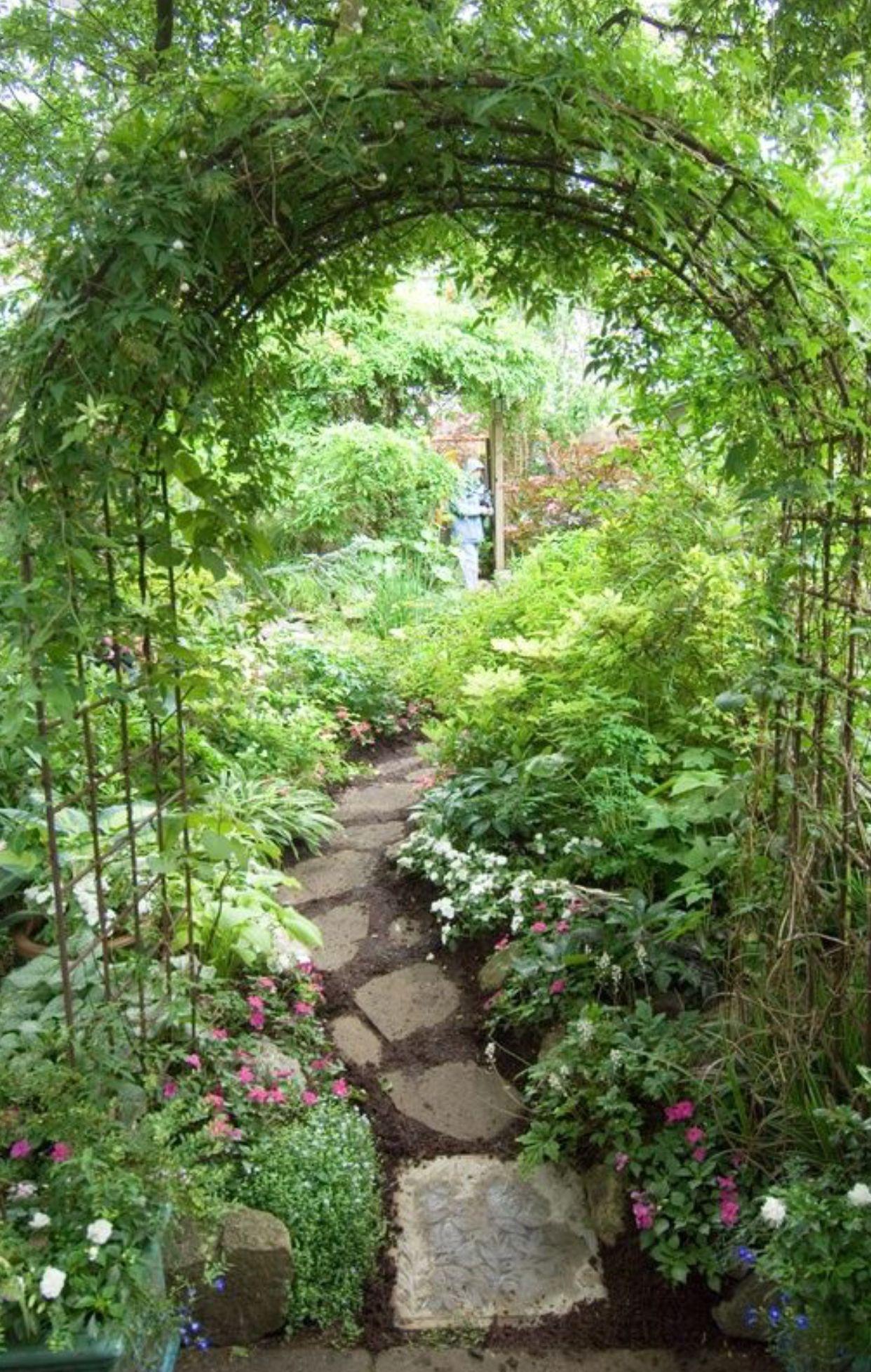 Pin By Kailey Walter On My Magical Botanical Garden Pinterest - Arcos-de-jardin