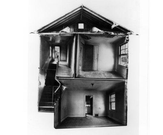 Gordon Matta-Clark, Splitting,1974