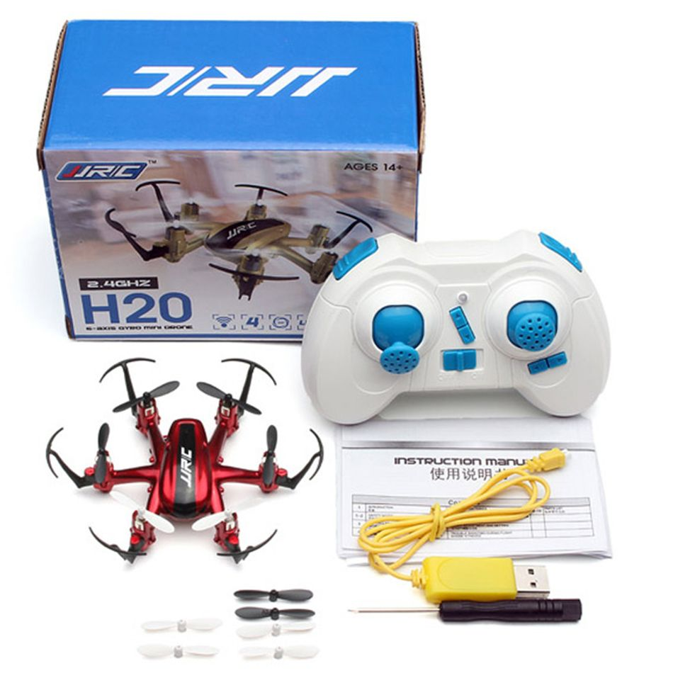 Original JJRC H20 Mini RC Drone 6 Axis Dron Micro Quadcopters Professional Drones Flying Helicopter Remote