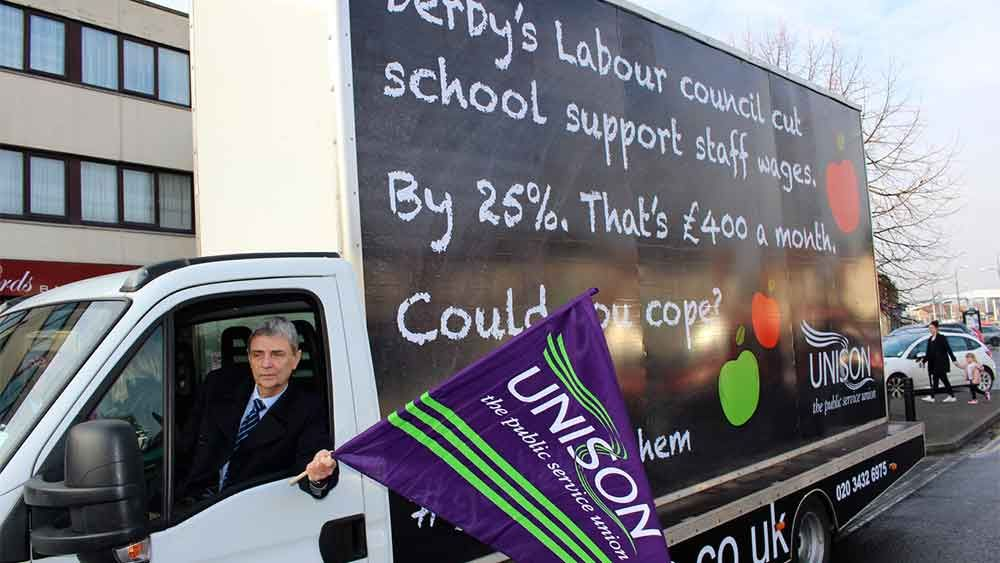 From UNISON - Blog: Derby – our magnificent members aren't going anywhere http://wp.me/p7aCDO-dcu