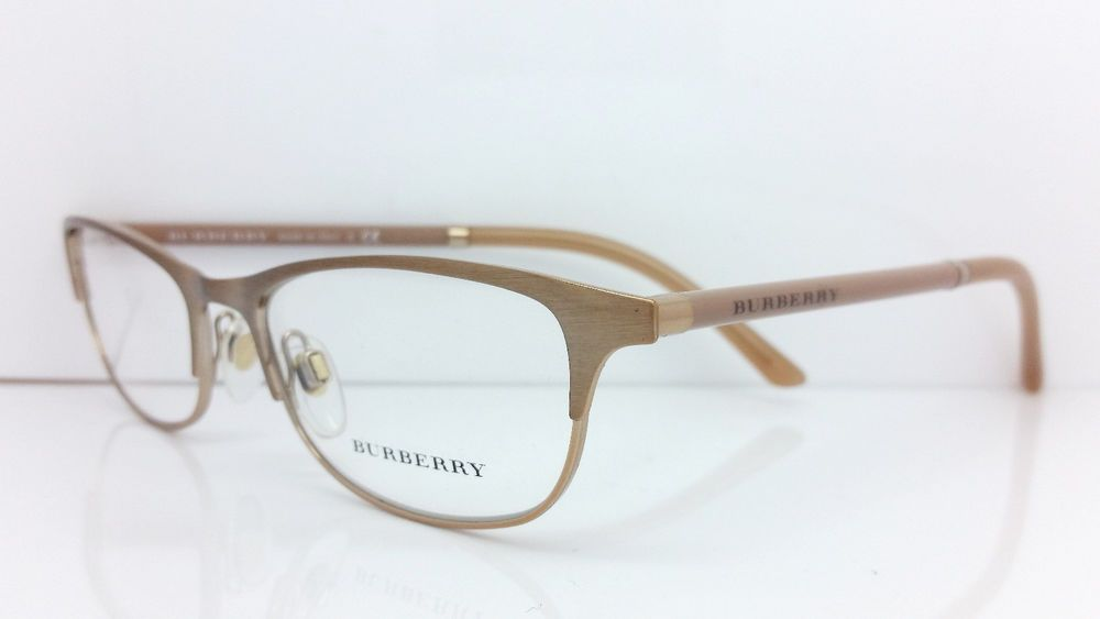 New BURBERRY B1249 1174 Eyeglasses Made in Italy 51MM # ...
