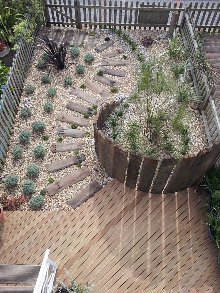 Small Decking Area