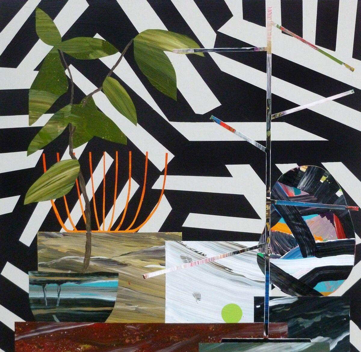 The Plant-Filled Freak Folk Paintings of Paul Wackers