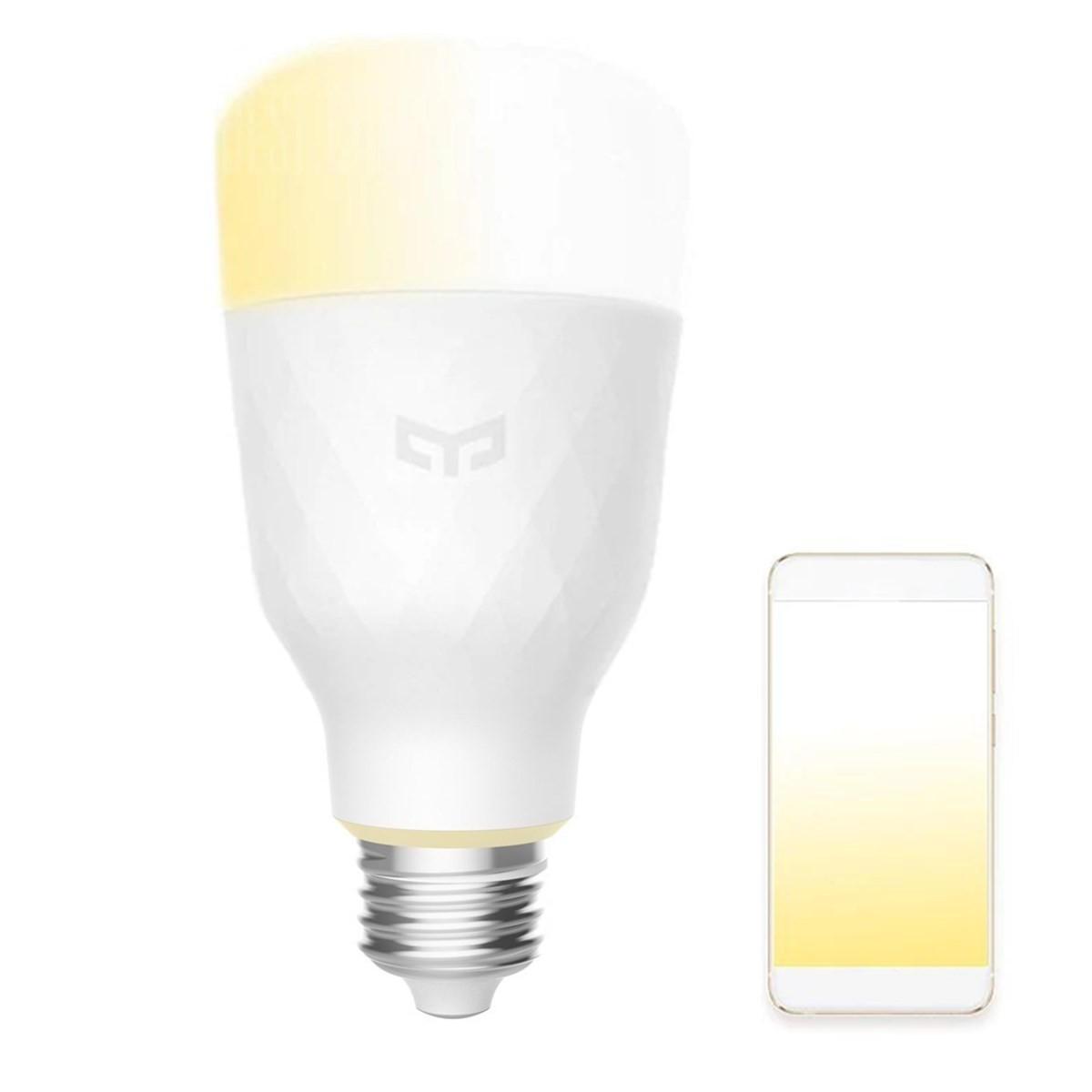 Yeelight Yldp05yl E27 10w Warm White To Daywhite Wifi App Smart Led Bulb Ac100 240v Xiaomi Ecosystem Product Smart Light Bulbs Smart Bulb Smart Lighting