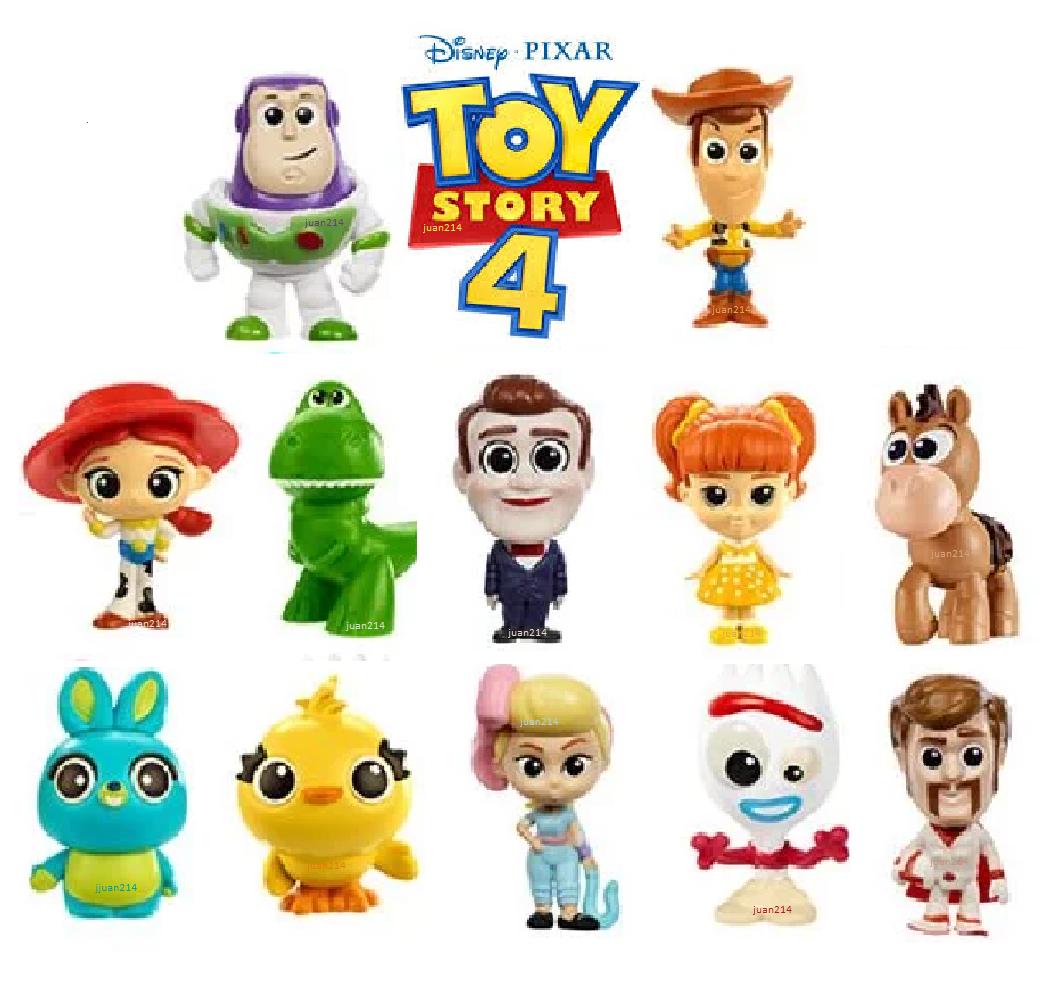 Disney Pixar Toy Story 4 Minis Character Mini Figures Choose Your Bag Ebay Pixar Toys Toy Story Disney Clipart